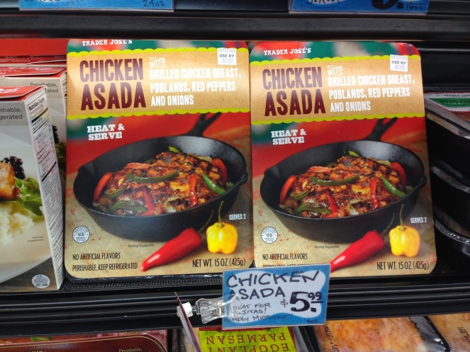 Trader Joes Chicken Asada Eggface New Product Find